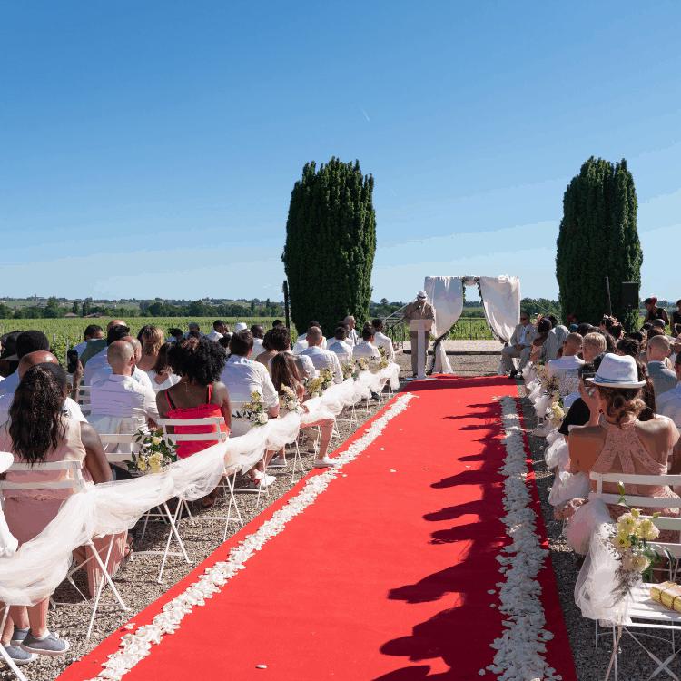 Ceremonie-laïque-cortege-mariage-fleurs-bordeaux-lpfloraldesigner