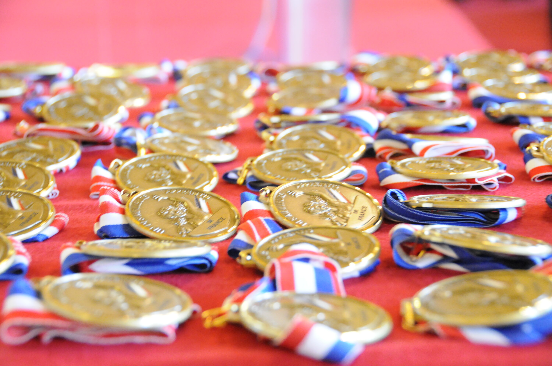 Médailles d'or-MAF