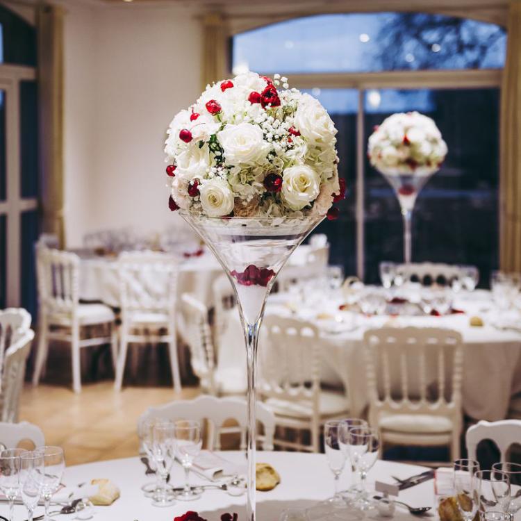 Reception-decor-table-composition-fleurs-decoration-noel-mariage-luxe-chic-hautdegamme-prestige-bordeaux-paris-france-lpfloraldesigner
