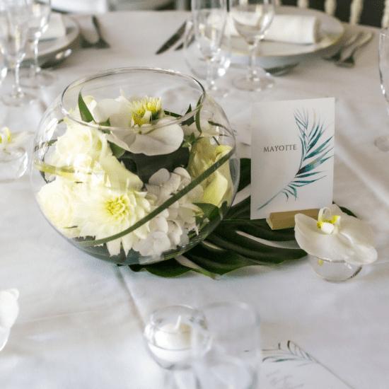 centredetable-composition-chic-tropical-fleurs-mariage-bordeaux-lpfloraldesigner
