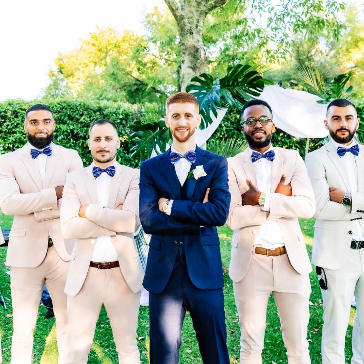 cortege-homme-costume-chic-marié-fleurs-mariage-bordeaux-lpfloraldesigner